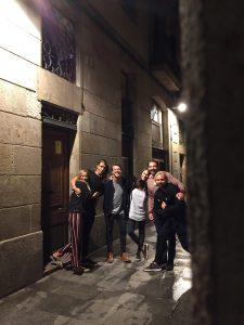 Gothic quarters of Barcelona, Catalonia, Spain.